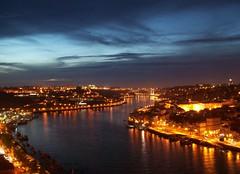 Douro River at night