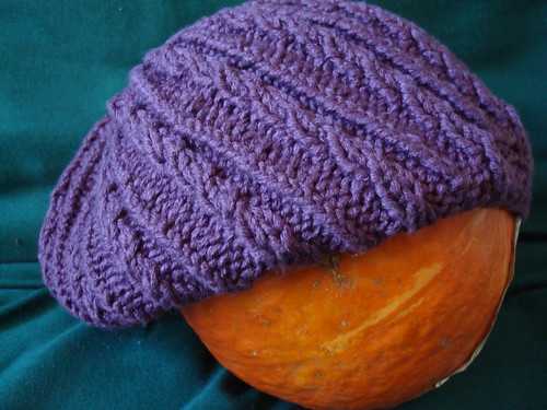 Baby Cabled Baby Slouch