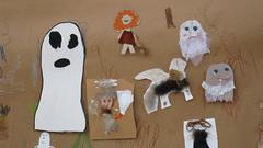 Peikkoja ja kummituksia (Pointin kirjasto) Tags: point library drawings ghosts 2009 peikko piirustus kummitus children´sart trolis tottatarua