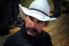 Mike 'Doc' Smith (koalie) Tags: portrait hat cowboy thestranger mikesmith w3t tpac09 mikedocsmith 2009110109santaclara biglebowskitribute