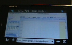 Nokia N900: Google Docs and Calendar Demonstra...