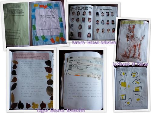 buku kegiatan sekolah