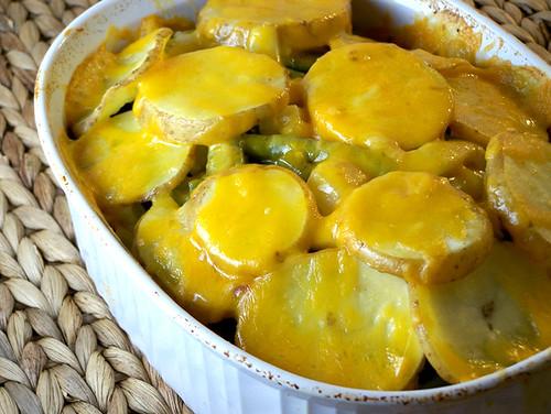 Green Bean and Potato Casserole