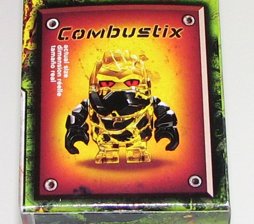 LEGO 2010 Power Miners 8188 Fire Blaster - Combustix Box Art