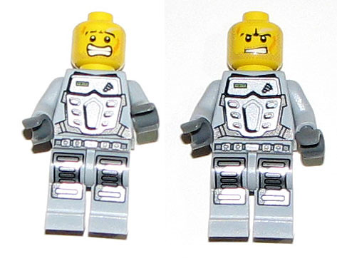 2010 LEGO 8188 Power Miners - Fire Blaster