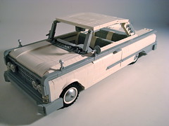 Stock Beauty...1960 Ford Starliner (Lino M) Tags: white classic ford car lego gray build ralph challenge lino 60 starliner galaxie lugnuts 1960 bogstandard iwannabelikeyou stockbeauty savelsberg