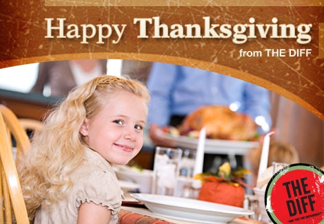 Quicken Loans DIFF blog wishes you a Happy Thanksgiving!