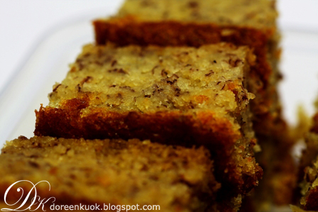20091126_Banana Cake