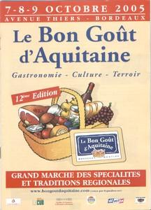 Le bon goût d'Aquitaine