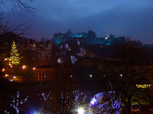 Edinburgh Castle for St Andews Day