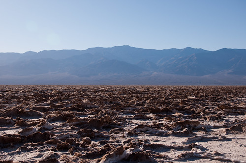 Telescope Peak view from Badwater