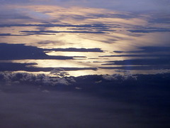 above dalmatian islands (1) (kexi) Tags: above sunset sea wallpaper water clouds islands high nikon october croatia aerial coolpix 2009 adriatic adriaticsea dalmatia instantfave