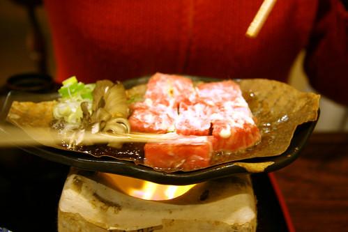 Takayama - hida Beef - presentacion