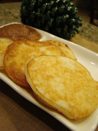 Оладьи картофельные из пюре