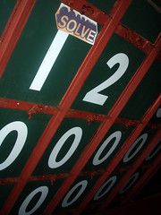 Solve In the Scoreboard at Wrigley Field 3 (Barrybu) Tags: street chicago field artist cubs wrigley solve