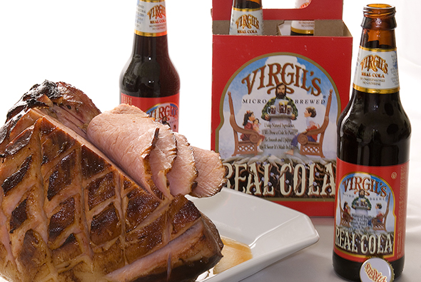 Virgil's Real Cola with Ham