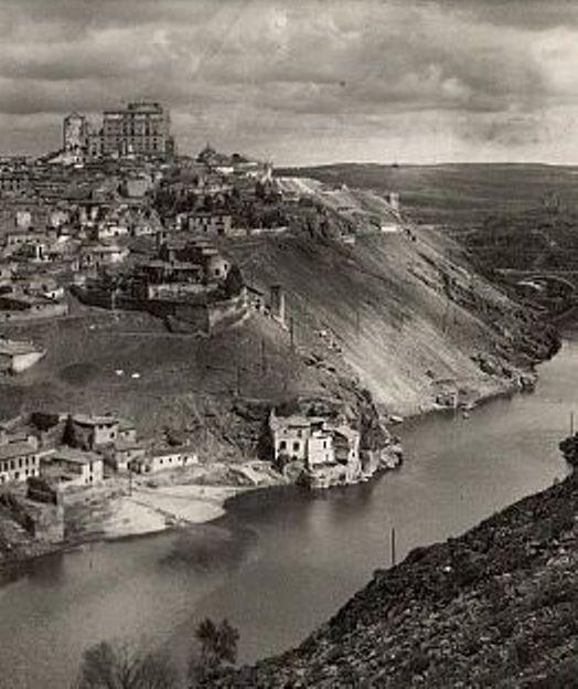Casa del diamantista a mediados del siglo XX. Foto Arribas