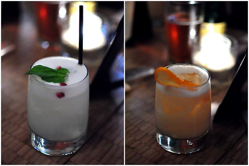 THE WHISKEY WINTER AND HENDRIX MISTLETOE FIZZ