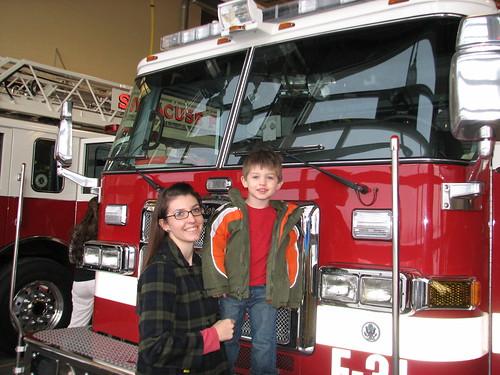 GG Family Caroling the firestation