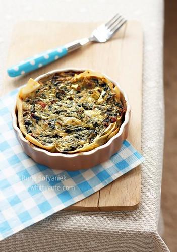 Crisp Spinach Tart