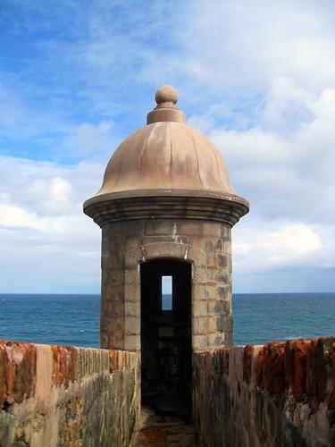 guard tower in old san juan (346/365)