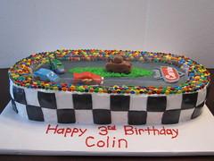 CARS race track birthday cake hebron ky