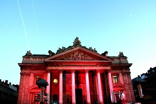 Belgique - Bruxelles - La Bourse