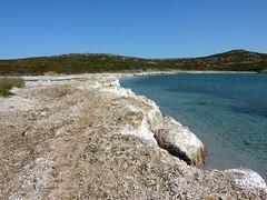 Sur le sentier de Campu Mezzanu : la plage du ruisseau de Saparelli
