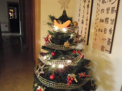 arbol de navidad PLATANO