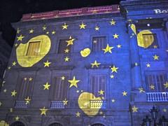 Ajuntament de Barcelona (Judit Bermdez Morte) Tags: barcelona christmas city light star navidad town hall estrella nadal ayuntamiento ajuntament galet