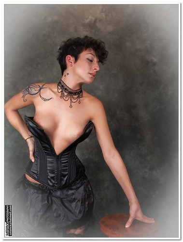 Tattoo Sexy Women with Hot Corset