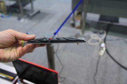 ThinkPad X100e 分解されたキーボード