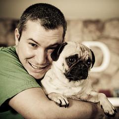 (3rdeyepro) Tags: portrait dog yoda pug wireless homestudio strobes alienbees