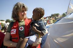 Red Cross Volunteer Winnie Romeril in Haiti