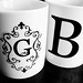 24/365: His & Her Mugs (B&W)