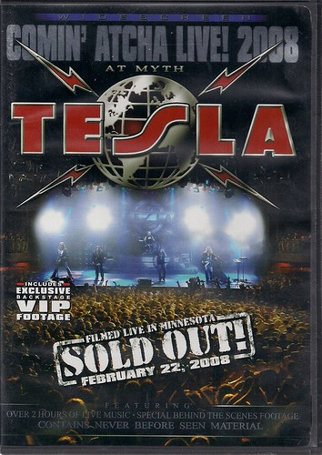 02/22/08 Tesla @ Myth, Maplewood, MN (DVD)