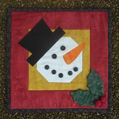 Sew-in Snowman