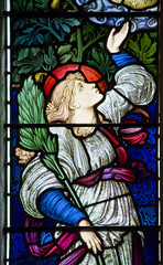 Hope (Lawrence OP) Tags: windows glass hope stained virtues spes burnejones buscot