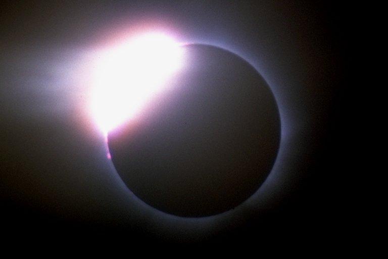 """First """"Diamond Ring"""""""
