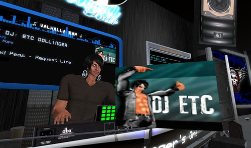 etc dollinger at valhalla bar in second life