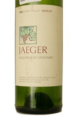 1980 Jaeger Inglewood Vineyard Merlot
