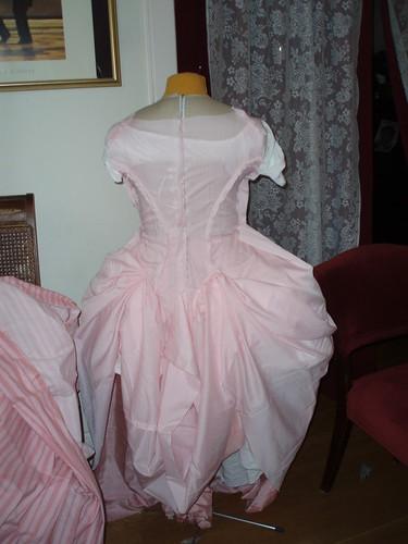 Lining/mock on dressform