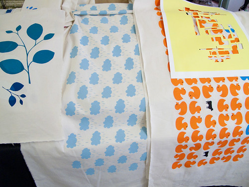 yardage printing classes at Ink & Spindle