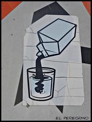 Latte pi - Milk plus (El Peregrino) Tags: italy island milk italia stickers sicily latte signal isle sicilia isola favignana segnali adesivi letrerito sottocultureurbane