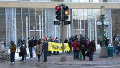 March against US military actions in Yemen and Pakistan (Fibonacci Blue) Tags: minnesota twincities march yemen pakistan military terror terrorism daswo rally antiwar snake troop surge city downtown peace war minneapolis mpls occupy occupation protest protester activist activism