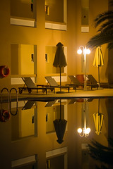 Hotel Pool (Michael Rugosi) Tags: reflection water pool greek hotel greece crete