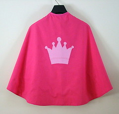 The Queen of Hearts - Reversible Cape from Sheep in a Heap