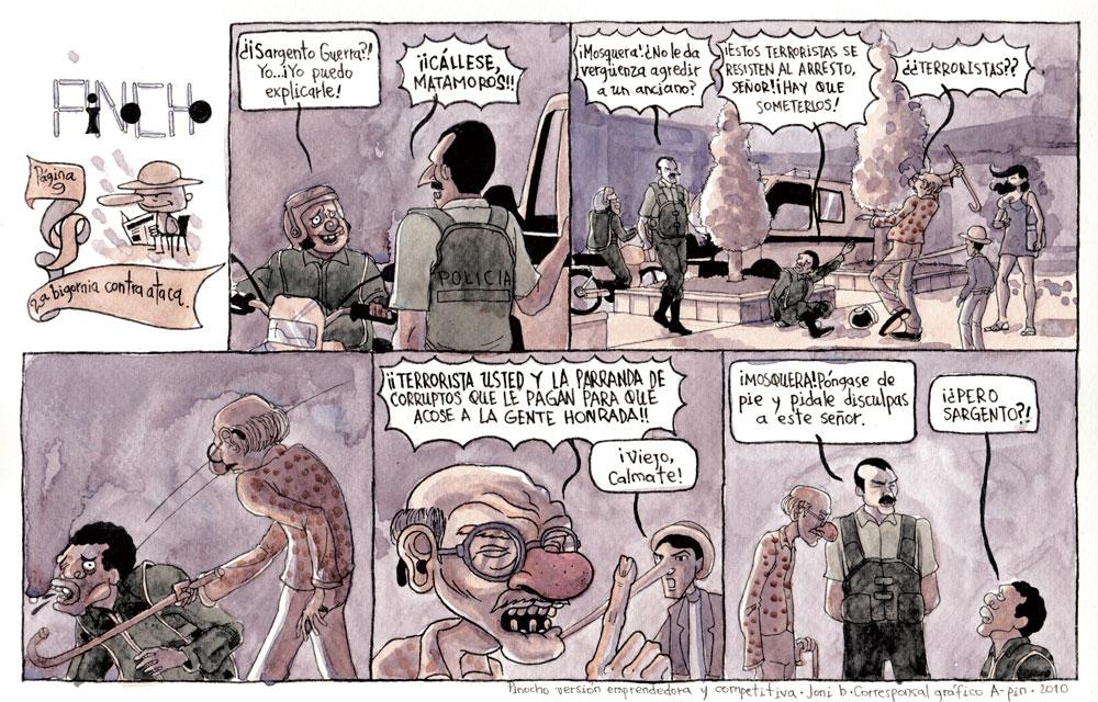 Página 9: La bigornia contraataca