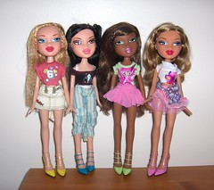 Bratz Feelin Pretty (Bratz UK) Tags: pretty jade sasha yasmin bratz feelin cloe
