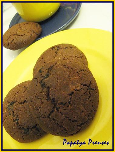 zencefilli tarçınlı kurabiye